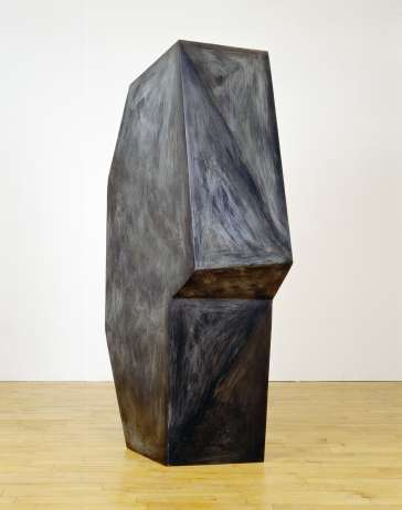 Catherine Lee, Delphica, 2000, Fabricated bronze with patination, 5 x 2.5 x 2.5', Courtesy of Galerie Karsten Greve, Cologne