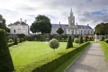 View of the Irish Musem of Modern Art from the Formal Gardens
