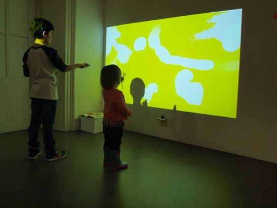 Fionnuala Conway and Mark Linnane, A rainbow in the palm of my hand, 2014. Interactive video work. Courtesy the artists