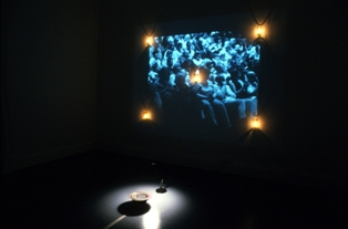 Living Lenses, Louise Bertelsen and Poshu Wang, The Sound of the Two Hands Clapping, Process Room, IMMA, 2006