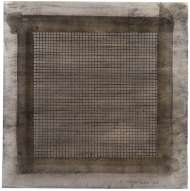 Agnes Martin, Wood I, 1963, Watercolor and graphite on paper, 30.5 x 30.2 cm, Collection of Sally and Wynn Kramarsky, Courtesy The Drawing Centre