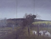 Martin Gale, Sonny's Day (triptych), 1980, oil on canvas, 107 x 137 cm, Collection Irish Museum of Modern Art, Donation, Maire and Maurice Foley, 2000
