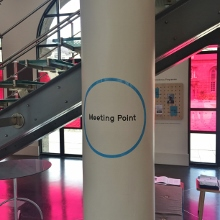 Meeting Point at IMMA main reception