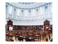 Candida Höfer, National Library of Ireland Dublin I, 2004, 152 x 178 cm, C-print, Courtesy of the artist and VG Bild-Kunst Bonn 2006