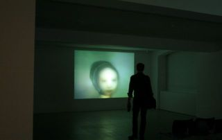 Sam Jury, Forever is Never, 2007, continuous loop video projection.