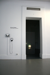 Sam Jury - Video projection into perspex form, 2010