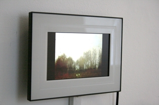 Sam Jury - Video Postcards - single channel, looped videos works on digital screen (20 x 30 cm), 2010