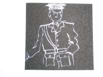 Sheila Gorman (Ireland), Great War smalll drawing, AWP 2004