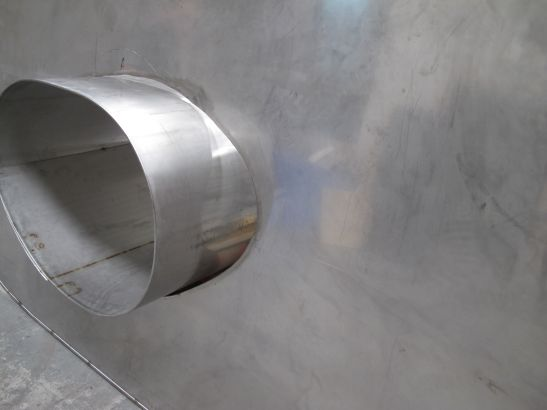 Susana Solano, Carmen, 2011, Stainless steel, 3.30 x 2.10 x 2.10 m, Courtesy of the artist