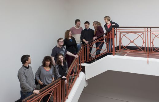 Interpreters from Tino Sehgal�s This Situation at IMMA @ NCH. Photography by Miranda Driscoll