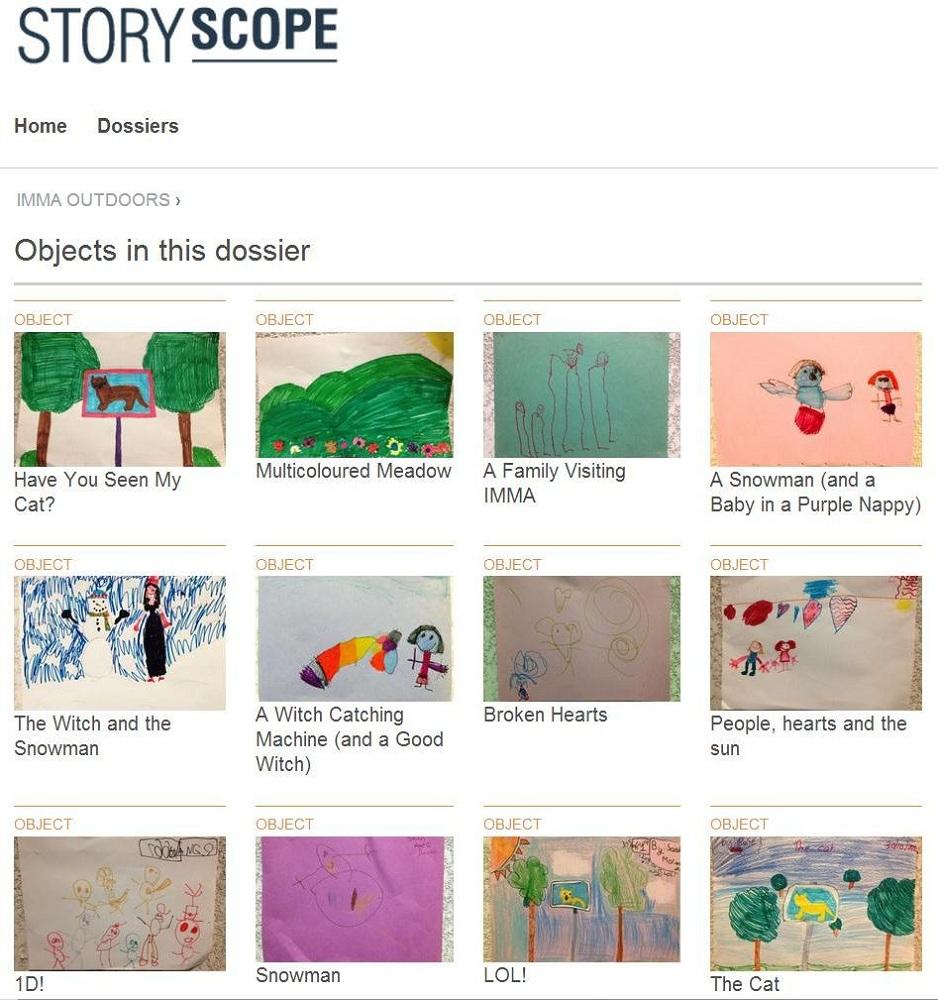 Fig 6 Storyscopekids Dossier View post Trial Oct IMMA