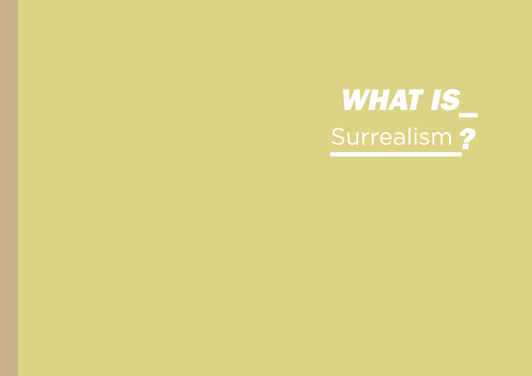 What is Surrealism