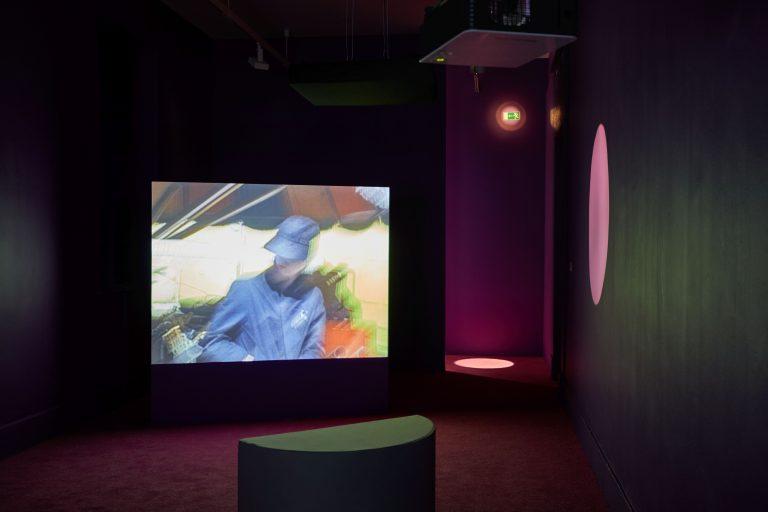 Vivienne Dick, 93% STARDUST, 2017. Installation view IMMA – Irish Museum of Modern Art. Photo: Denis Mortell.