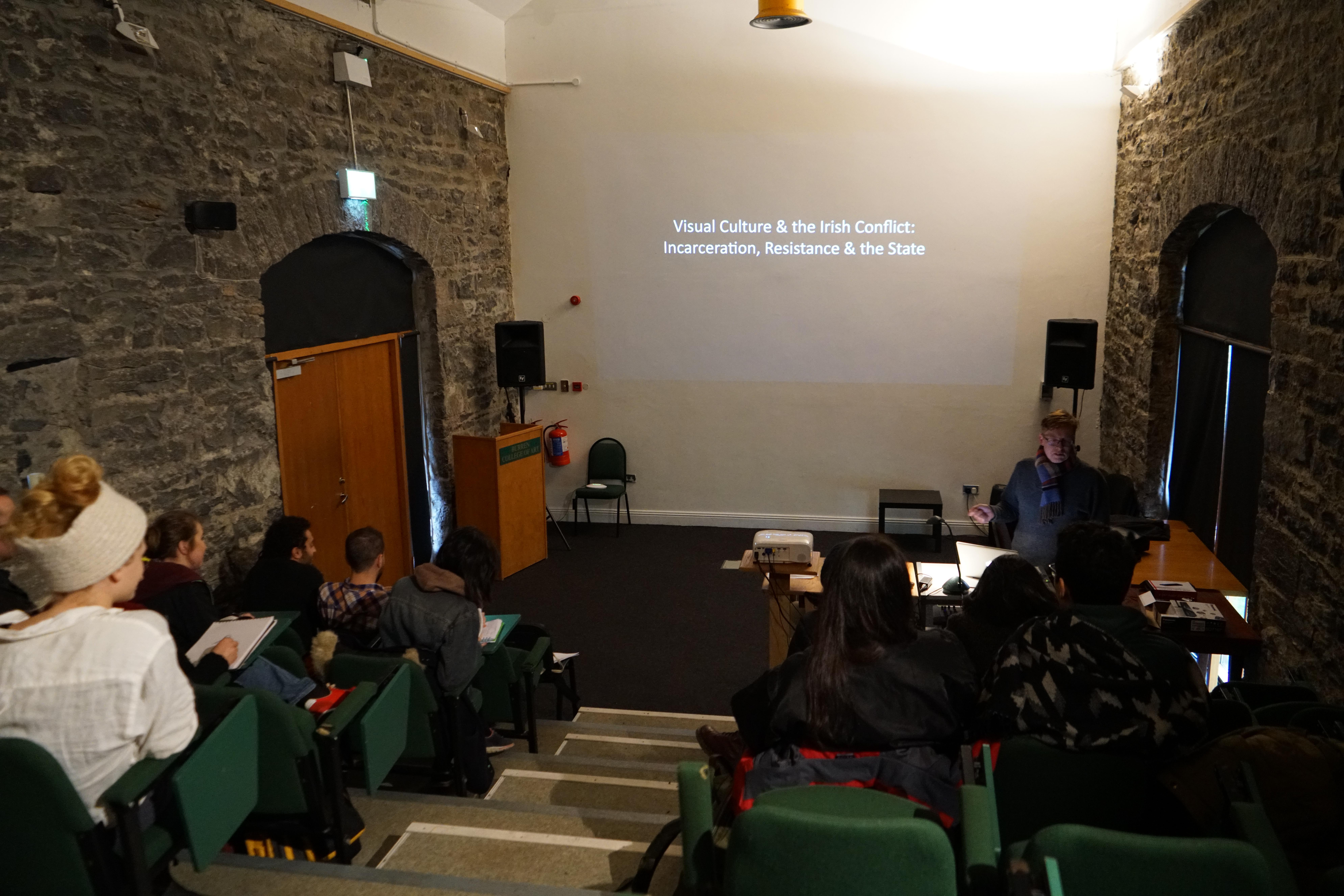 Conor McGrady Seminar at the Burren College of Art