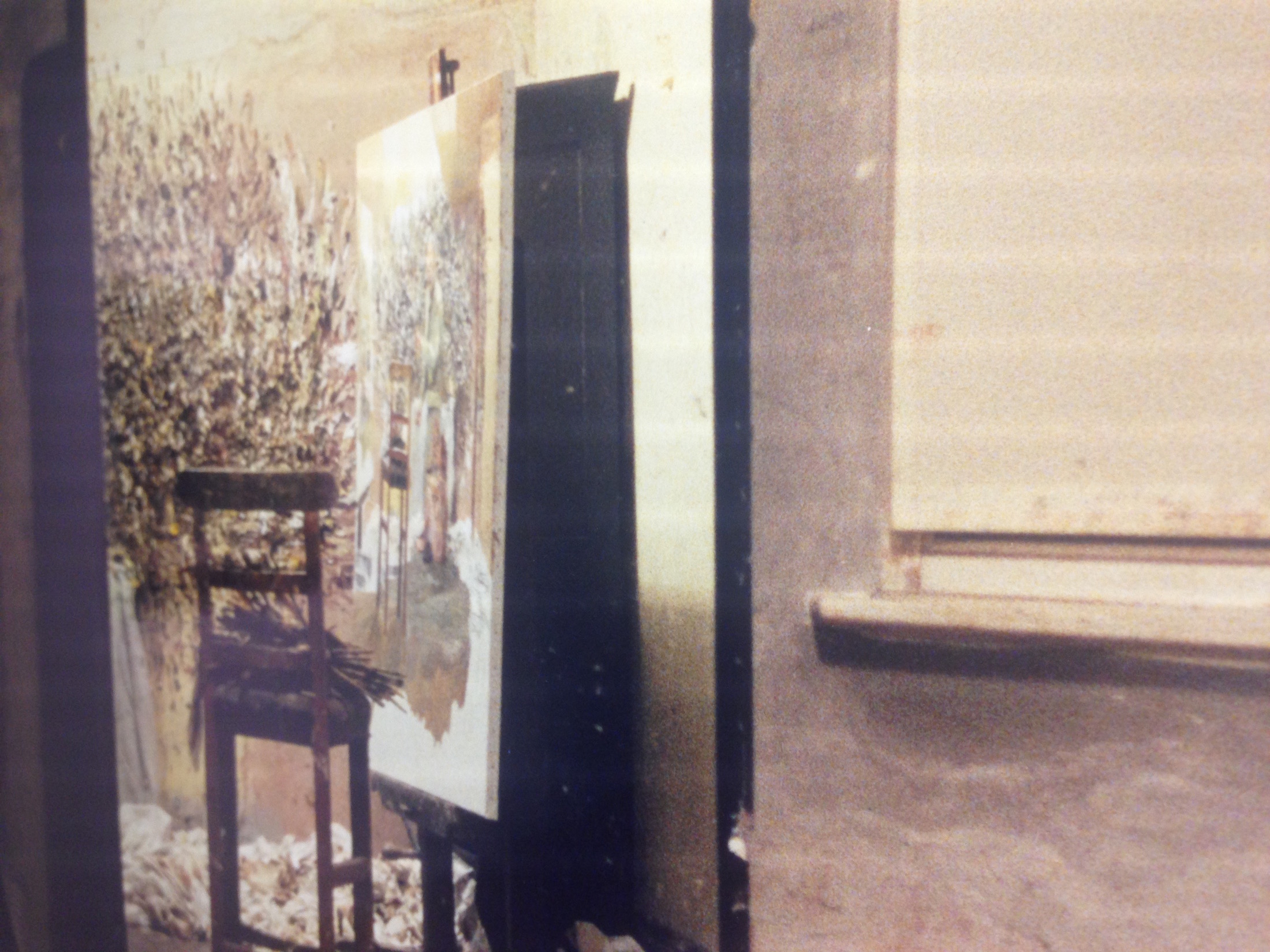 Detail from Photograph of Freud's Studio