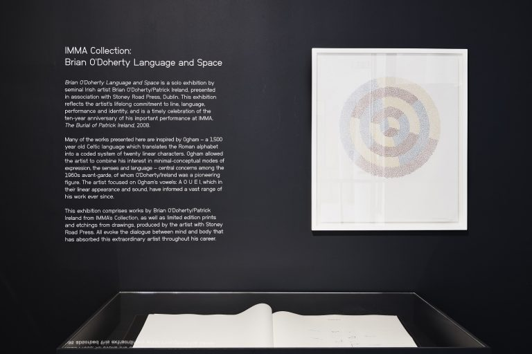 IMMA Collection Brian O'Doherty Language and Space, 26 April – 16 September 2018, IMMA. Photography Ros Kavanagh