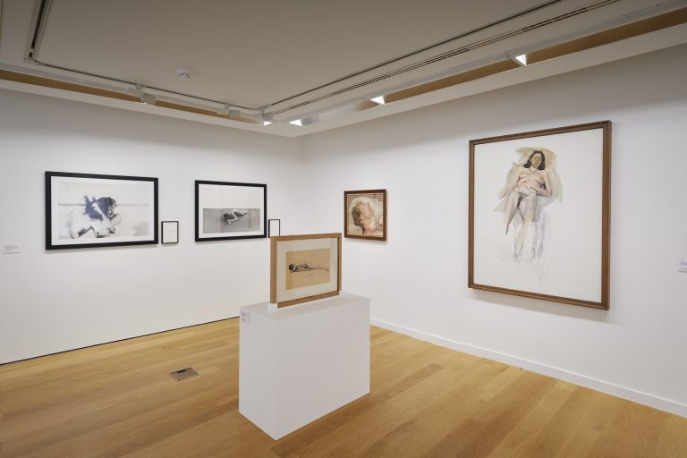 Installation View of IMMA Collection: Freud Project, Gaze, IMMA, Dublin, 2018. Photo: Ros Kavanagh