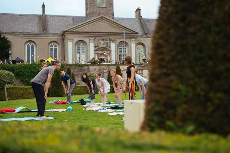 Outdoor workshops at the IMMA Summer Party 2017, Sunset Birth, Photo: Kyle Tunney