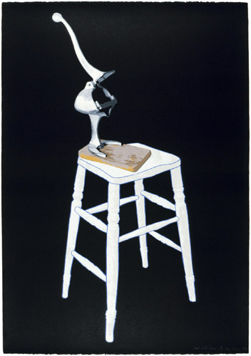 Stool with Press