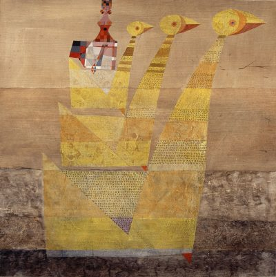 Legend III, Queen With Geese, 1970