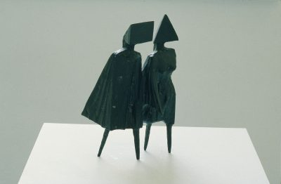 Maquette IV Walking Couple