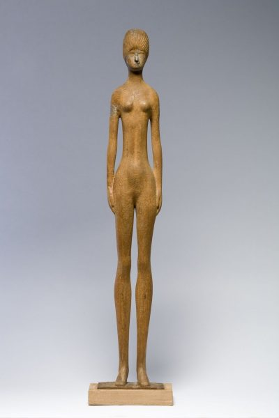 Nude Young Girl Standing