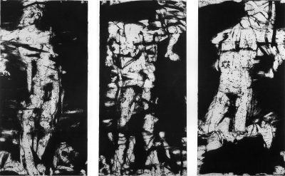 Three Studies for A Crucifixion II