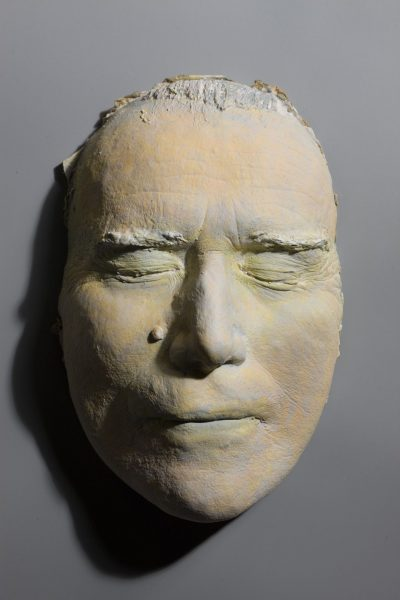 The Burial of Patrick Ireland, Death Mask