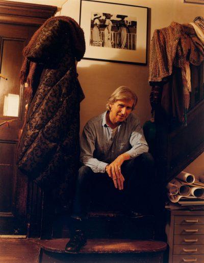 Brian O'Doherty at home, New York