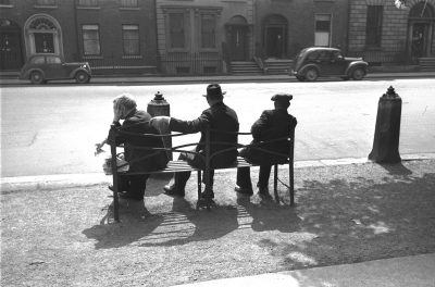 Old Men Sitting, St Stephen's Green