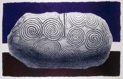 Untitled  (large stone at Newgrange)