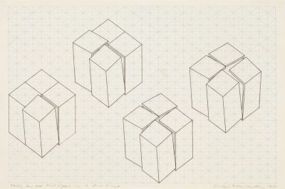 Study for Box that Opens in 4 Directions