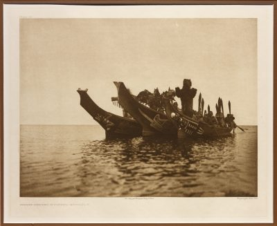 Masked Dancers in Canoes – Qagyuhl