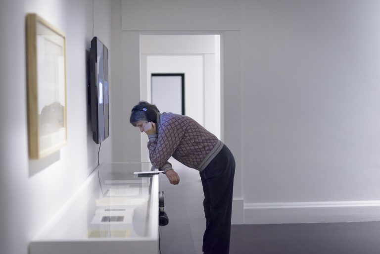 InInstallation view of IMMA Collection: Coast-Lines