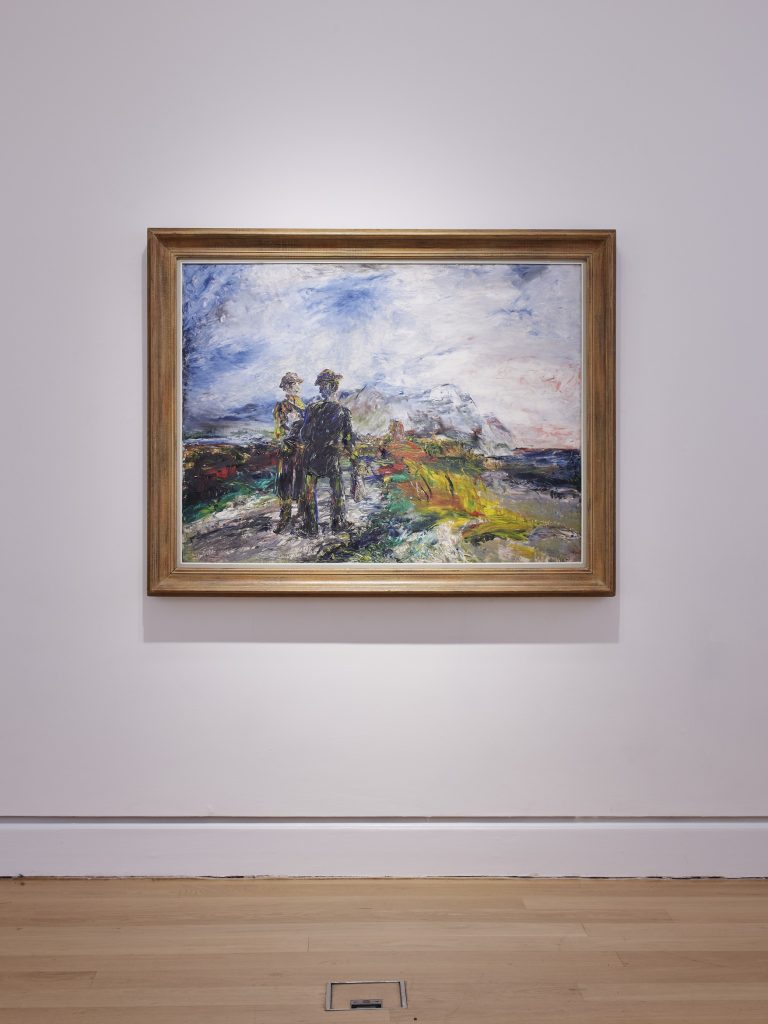 Installation view of 'Life Above Everything: Lucian Freud and Jack B. Yeats'. IMMA, Dublin. Photo by Ros Kavanagh.