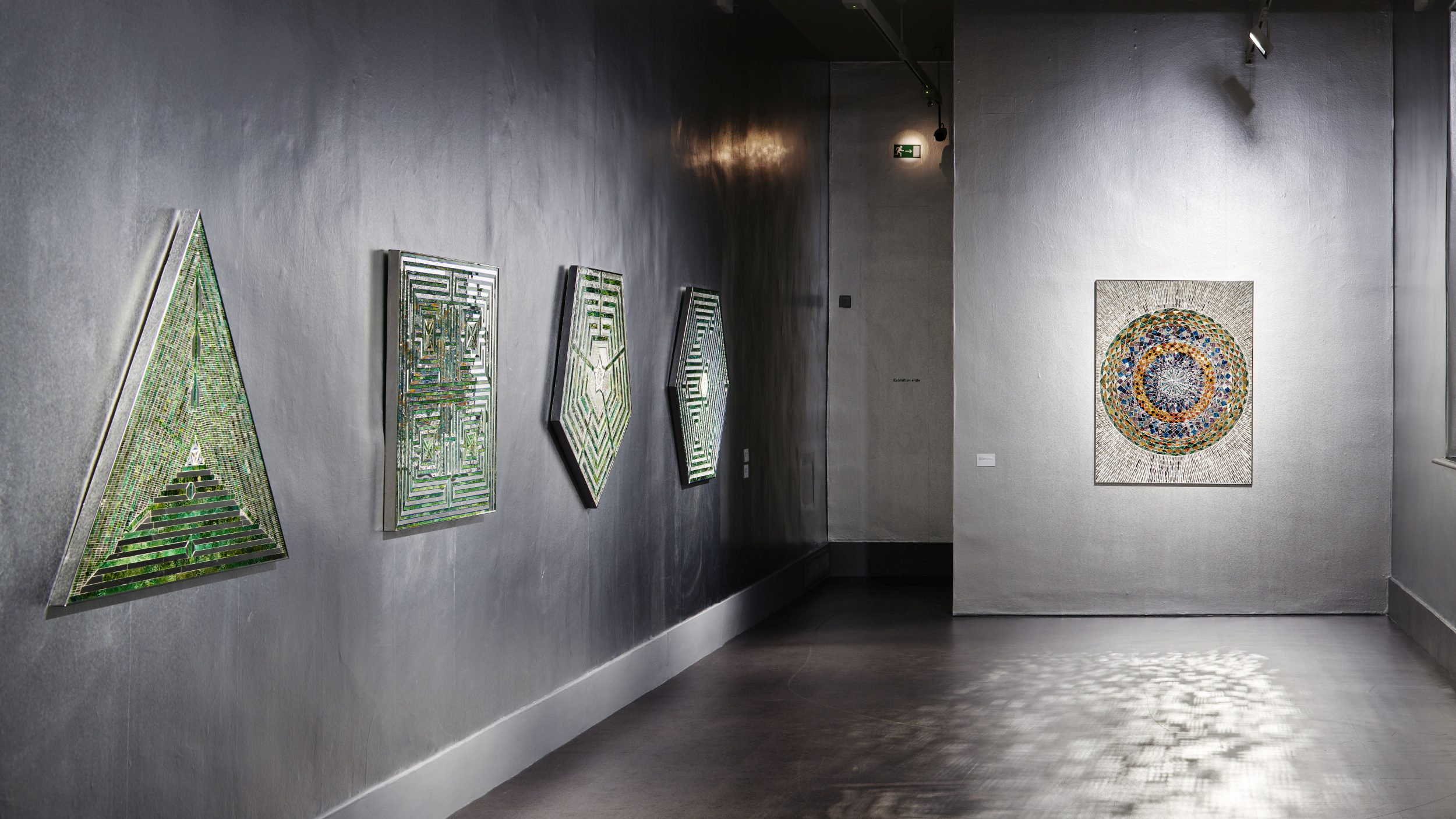 Installation view of 'Sunset, Sunrise' by Monir Shahroudy Farmanfarmaian. IMMA. Dublin. 10 August - 25 November 2018. Photo: Ros Kavanagh