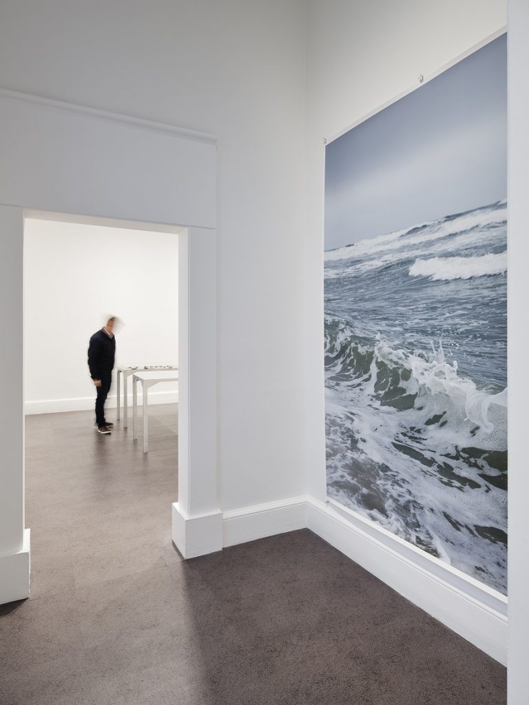 Installation view of Wolfgang Tillmans, Rebuilding the Future