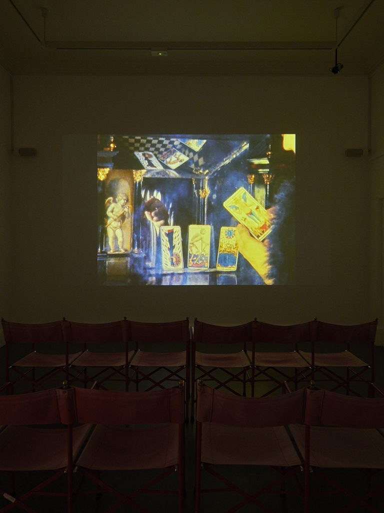 Installation view of the exhibition Derek Jarman, PROTEST!, IMMA, Dublin. 15 November - 23 February 2020. Photo by Ros Kavanagh