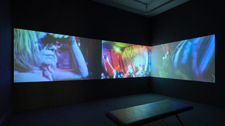 Installation view of Kim Gordon: She bites her tender mind, 27 July - 10 November 2019, IMMA, Dublin. Photo by Ros Kavanagh.
