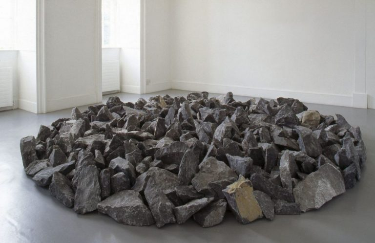 Richard Long, Kilkenny Limestone Circle, 1991. Limestone. 400 cm diameter. IMMA Collection Purchase, 1991