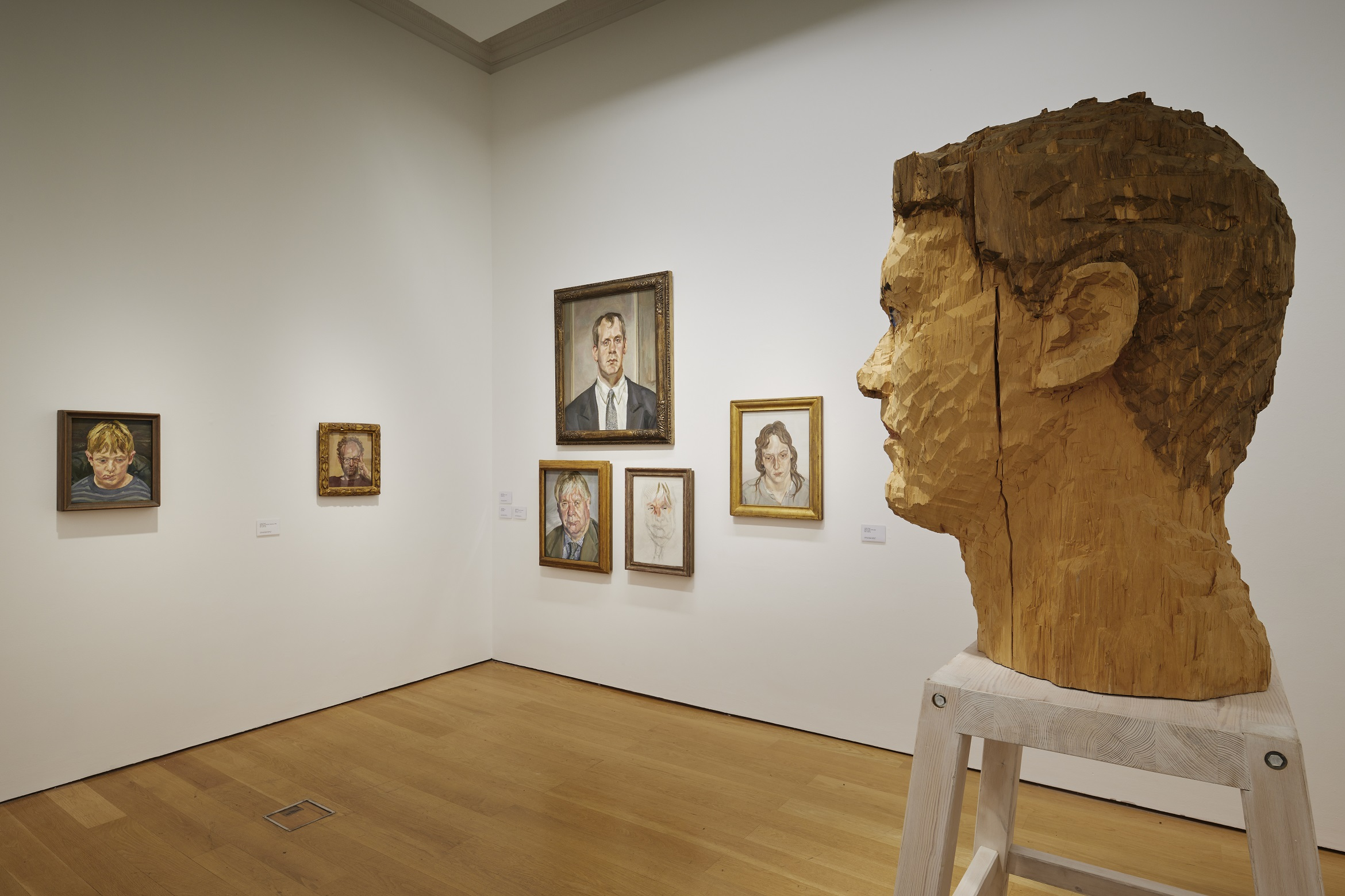Installation view, IMMA Collection: Freud Project, Gaze. 4 October 2018 - 19 May 2019. Photo: Ros Kavanagh