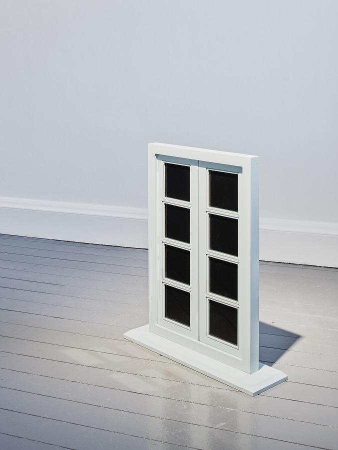 Walker and Wallker. Window, after Marcel Duchamp, after Charles Baudelaire, 2019.