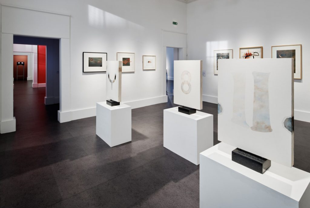 Works by Mary Farl Powers, installation shots, 'A Fiction Close to Reality', IMMA, Feb-Oct 2019, Photography Ros Kavanagh