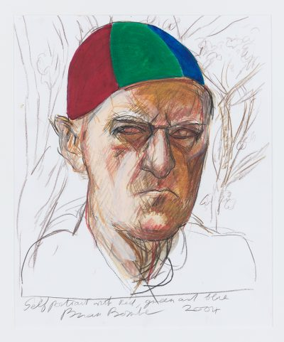 Self Portrait with Blue, Red and Green