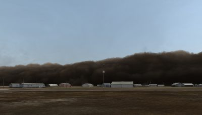Dust Storm (Manter, Kansas)