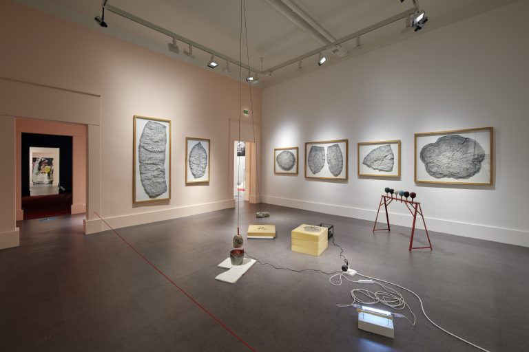 Installation view Ghosts from the Recent Past, 1 Sept 2020 – 28 Feb 2021, IMMA, Dublin. Photo Ros Kavanagh.