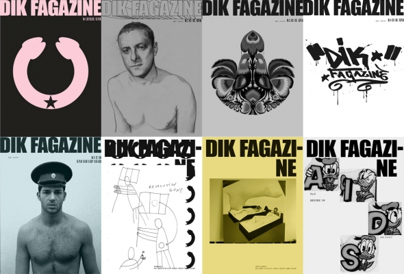DIK, collage of cover images