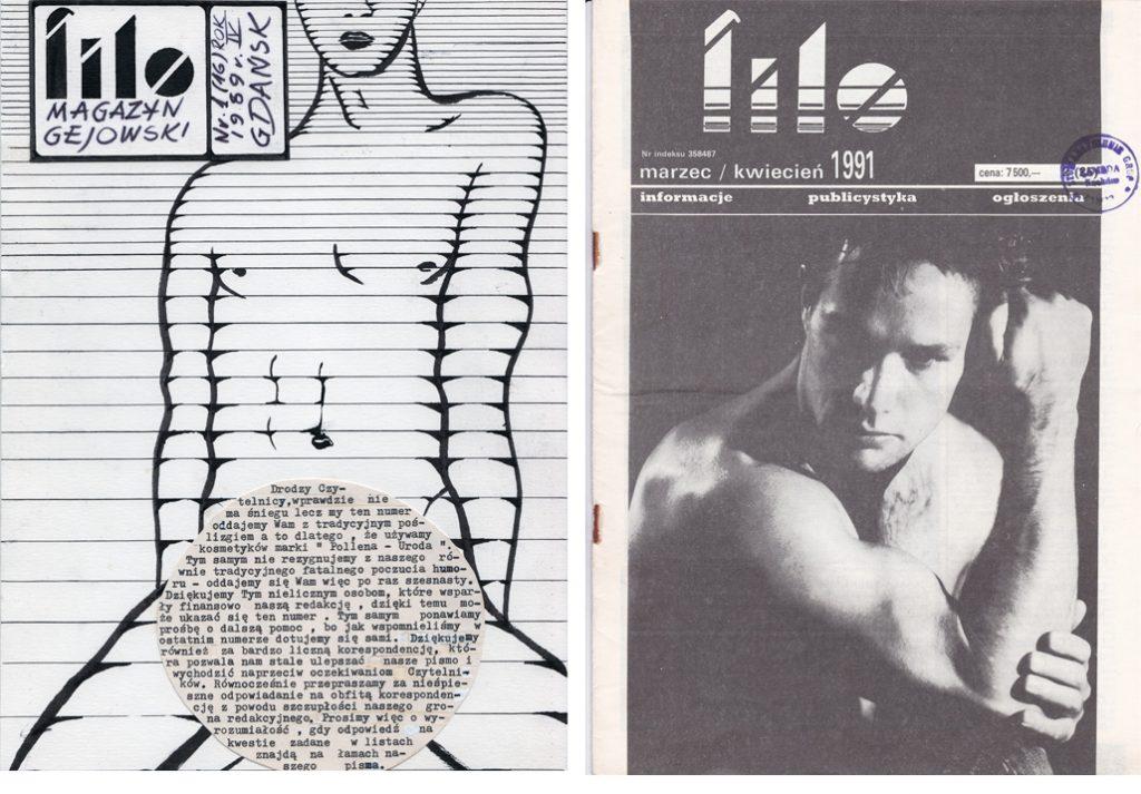 Filo, cover image, 1989 and 1991