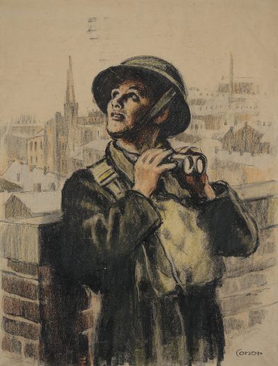 The Air Raid Warden (Robinson Clever's Roof)