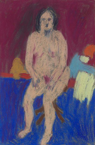 Untitled (Seated Nude)